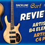 RECENSIONE – REVIEW – Bassi Elettrici Cort Artisan B4 Element e C4 Plus